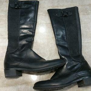 Aquatalia Italian leather tall boots